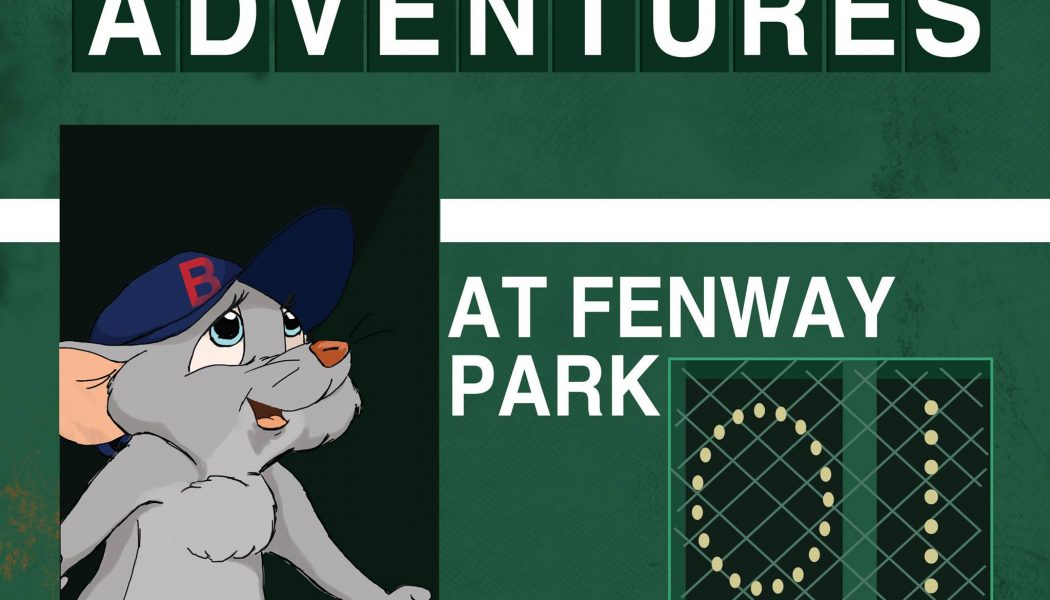 Local artist illustrates first book, Little Mouse's Adventures at Fenway Park