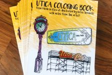 Utica Coloring Book