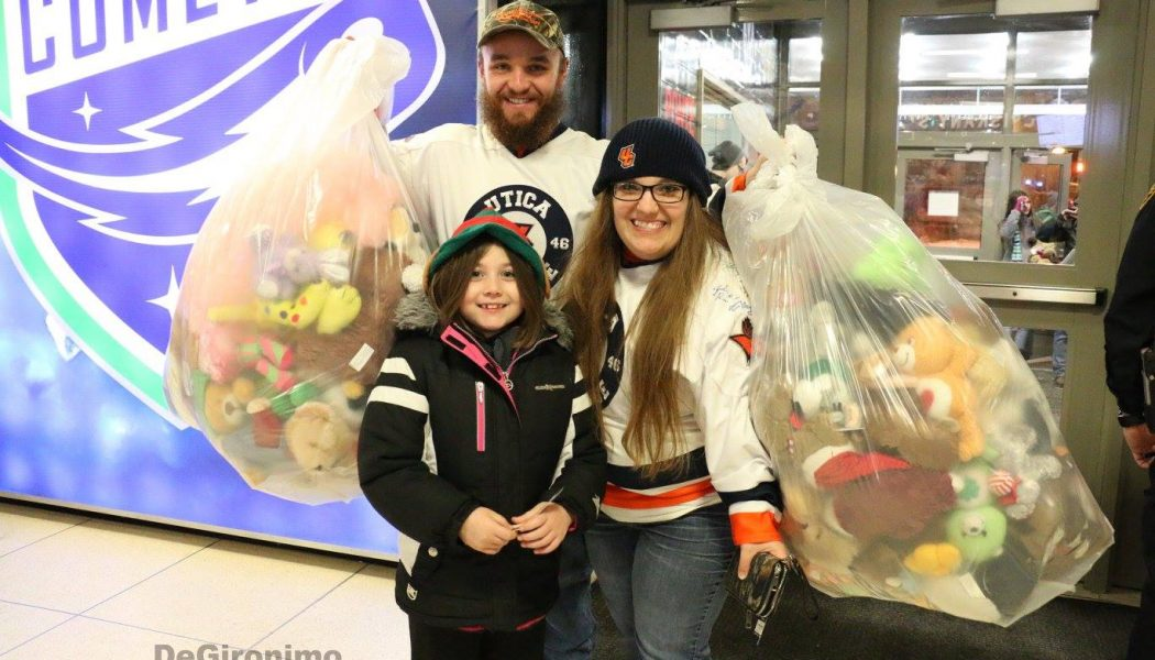 Utica Teddy Bear Toss